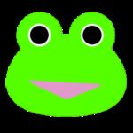 【カエルのイラスト】ロゴマーク用のカエル
