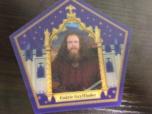 カエルチョコレートのカードの表