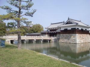 広島城のお堀