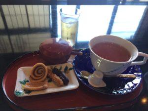 金沢の主計町のカフェ2