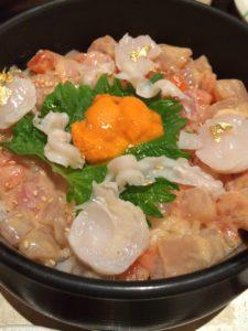 金沢の口福の海鮮ひつまぶし2
