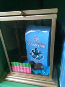 ペパーミントのカエルチョコレート