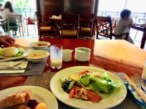 ザ・ブセナテラスのカフェテラス「ラ・ティーダ」の朝食