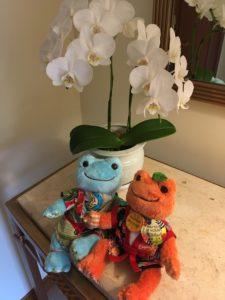 ザ・ブセナテラスの部屋に飾ってある花