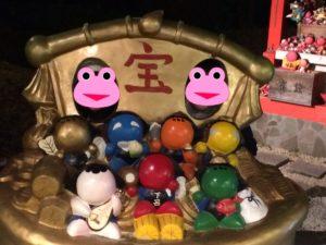 下呂温泉のさるぼぼ七福神社の宝船