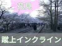 【京都で花見・桜】蹴上インクラインの映画みたいな線路の風景と南禅寺の水道橋