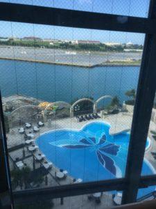 ロワジールホテル那覇の屋外プール