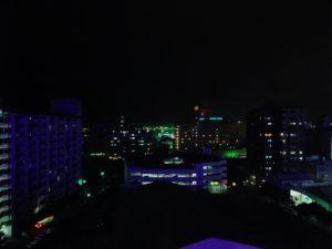 ロワジールホテル那覇の部屋からの夜景1