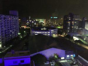 ロワジールホテル那覇の部屋からの夜景2