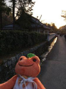 南禅寺の夕焼け2