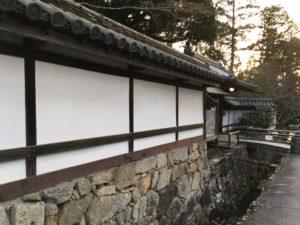 南禅寺の石垣や壁や水路