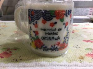マルシェ・ド・ピクルス沖縄の限定マグカップ