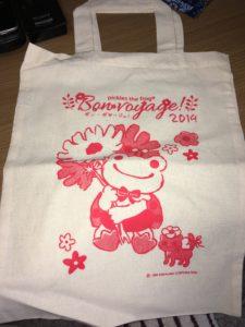 2019年かえるのピクルス名古屋イベントの限定販売ぬいぐるみ「てんとうむし」の特製ショッパー