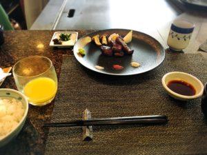 リーガロイヤル広島の鉄板焼きなにわのランチ2
