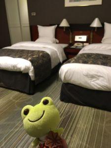 リーガロイヤル広島のツインのベッド