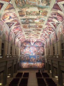 大塚国際美術館の天井画