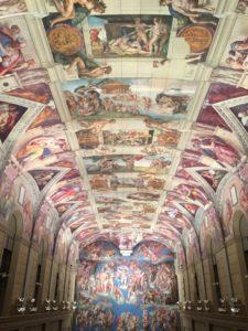 大塚国際美術館の天井画2