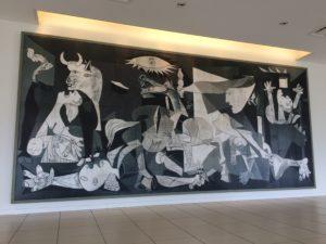 大塚国際美術館のピカソのゲルニカの絵