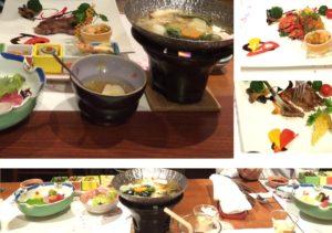 桜の抄の夕食