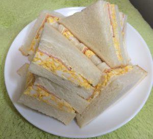 ハムエッグサンドイッチ
