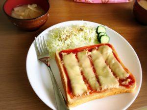 ツナとチーズのトースト