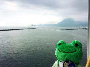 かえると高崎山と海