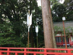 八幡朝見神社の矢