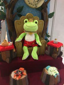 かえるのピクルス2018年コラボイベント大阪の王様に謁見