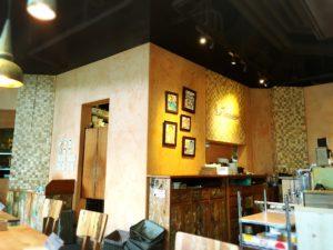 かえるのピクルス大阪イベント2019コラボカフェの内装