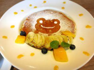 かえるのピクルス大阪イベント2019コラボカフェのパンケーキ