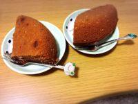 【カエルチョコレート】溶かしてホットケーキミックスと混ぜて炊飯器でケーキつくってみた!