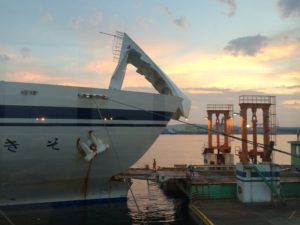 仙台港と太平洋フェリー