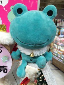 アットコスメのカエルのキャラクター・ミカエルさん冬バージョン