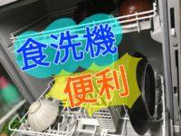 【食洗機は便利!】家事の時間を短縮・皿洗いからの解放。効率の良い暮らしが手に入る!