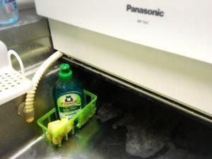 フロッシュ洗剤とスポンジ