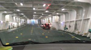 宇和島フェリーの駐車スペース