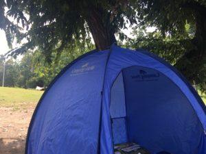 テントと荷物