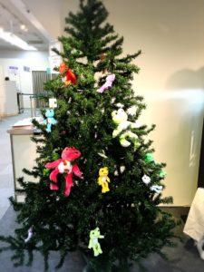 かえるのクリスマスツリー