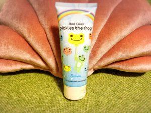 かえるのピクルスのハンドクリーム