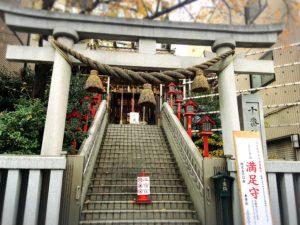 十番稲荷神社の鳥居