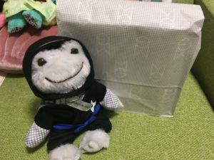 松屋銀座の包装紙