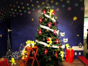撮影OKソーンのクリスマスツリー