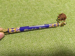 カエルチョコレートのボールペン