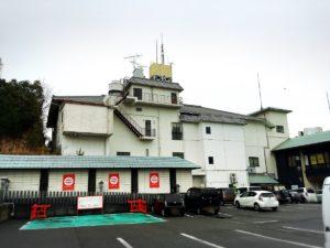 白崎八幡宮の駐車場