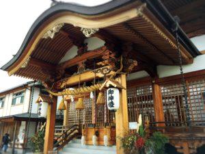 岩國白蛇神社の本殿