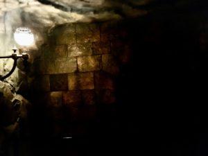 ホグワーツ城の地下牢っぽいところ