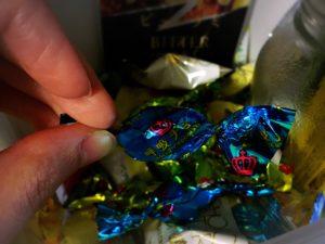 呼吸チョコ外観・個包装