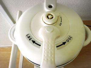 電気圧力鍋の上部