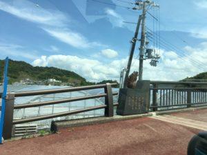 かえる大橋のかえるの像