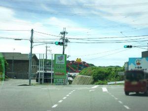高速出口・印南から降りてすぐのかえる大橋